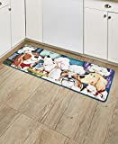 The Lakeside Collection Furry Dog Chef 52'' Rug