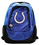 Indianapolis Colts Horseshoe Logo Blue Colored Full Size Backpack (16in)