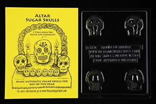 Sugar Skull Mold - Medium Altar - Day of the Dead -