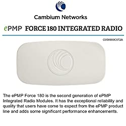 Cambium Networks - ePMP 5 GHz Force 180 Integrated Radio (FCC) C058900C072A