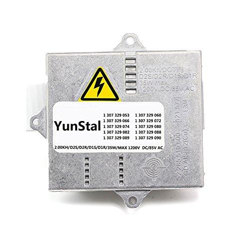 YunStal 1307329082 Xenon HID Headlight Ballast Control Unit Module with Fast Startup Safe Stability for Audi TT BMW Land Rover - Headlight E46 Ballast Bmw