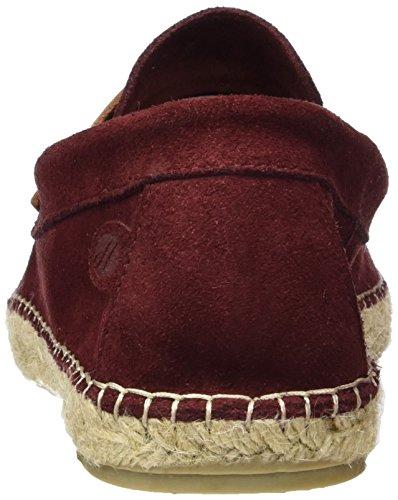 Hudson Juan Suede 45, Men's Chelsea Boots Red (Burgundy)