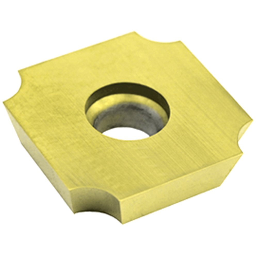 3//16 Thick Dorian Tool SDGX Multilayer Coated Carbide Square Convex Milling Indexable Insert Pack of 10 3//4 Insert 0.0937 Nose Radius