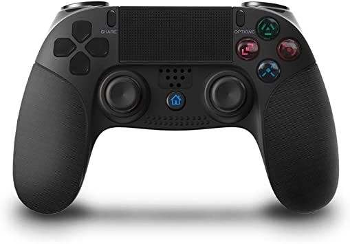 MHOLR PS4 Bluetooth Controlador Inalámbrico, Joypad Playstation 4 Consola Consola De Palanca De Control Remoto PS3, Palanca De PC para PS4 / PC: Amazon.es: Deportes y aire libre