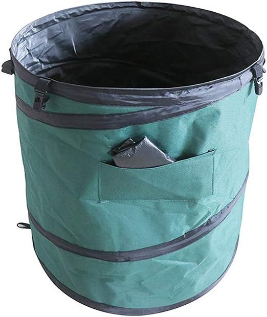R-WEICHONG - Bolsa de Basura Plegable para jardín: Amazon.es: Jardín