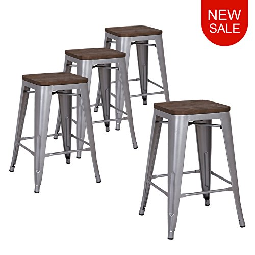 metal bar stools 24 inches - 8