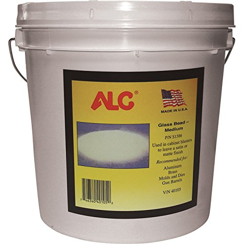ALC Medium Glass Bead Blasting Abrasive - 25 Lbs.