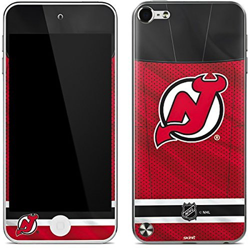 (NHL New Jersey Devils iPod Touch (5th Gen&2012) Skin - New Jersey Devils Home Jersey Vinyl Decal Skin For Your iPod Touch (5th Gen&2012))