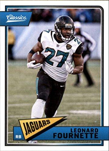 - 2018 Classics Football #47 Leonard Fournette Jacksonville Jaguars Panini NFL Card