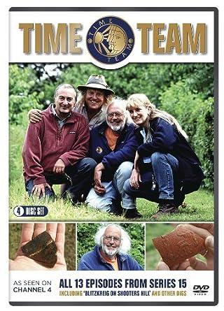 Time Team: Series 15 [DVD]: Amazon co uk: Tony Robinson: DVD