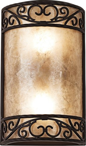Wood Sconce Standard (Natural Mica Collection 12 1/2