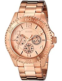 Guess Women's U0231L4 Rose Gold Stainless-Steel Quartz Watch