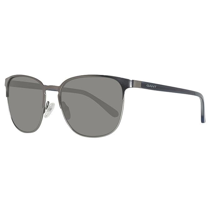 d178200c79 Sunglasses Gant GA 7077 GA 7077 09D matte gunmetal smoke polarized   Amazon.ca  Clothing   Accessories
