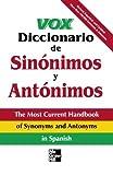 img - for Vox Diccionario De Sinonimos Y Antonimos book / textbook / text book