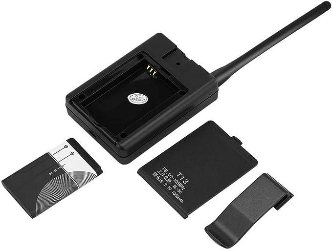 Zerone Tragbar Fm Transmitter Digital Wireless Fm Elektronik