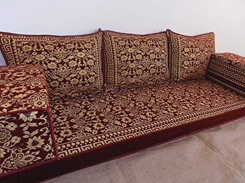 arabic floor seating,arabic sofa,arabic couch,floor seating sofa,oriental seating,bar decor,arabic furniture - MA 58 (Sunroom Seating)