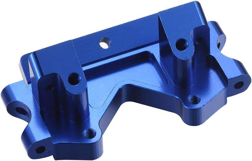 Atomik RC Traxxas Rustler 1:10 Aluminum Alloy Front Lower Bulkhead Hop Up Upgrade Blue Replaces Traxxas Part 2530