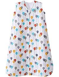 Sleepsack Cotton Wearable Blanket, Neutral Balloons, Large