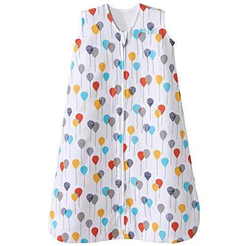 Bedding Circus - Halo Sleepsack Cotton Wearable Blanket, Neutral Balloons, Small