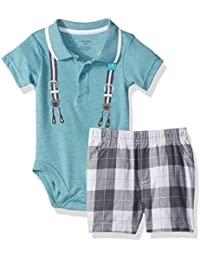 Calvin Klein Boys' 2 Pieces Short Set-Screen Print