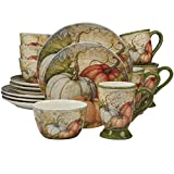 Certified International 89126 Autumn Fields 16 Piece Dinnerware Set, Set of 4, One Size, Mulicolored Review