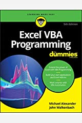 Excel VBA Programming For Dummies Kindle Edition