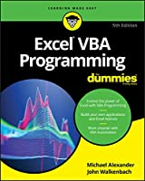 Excel VBA Programming For Dummies, 5th Edition Front Cover