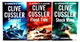 Download Clive Cussler 3 books Collection Set (Shockwave, Serpent, Flood Tide) in PDF ePUB Free Online
