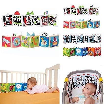 Amazon.com: Haoqi - Protector de cama para cuna de bebé ...
