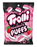 Trolli Strawberry Puffs Gummy Candy, 4.25 Ounce