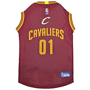 NBA PET Apparel. - Licensed Jerseys for Dogs & Cats Available in 25 Basketball Teams & 5 Sizes Cute pet Clothing for All Sports Fans. Best NBA Dog Gear 1