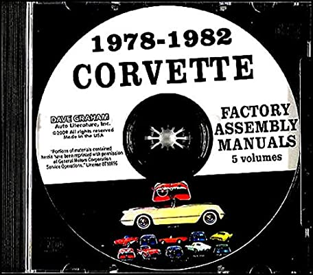 1981 Chevrolet Corvette Assembly Manual Book Rebuild Instructions Illustrations