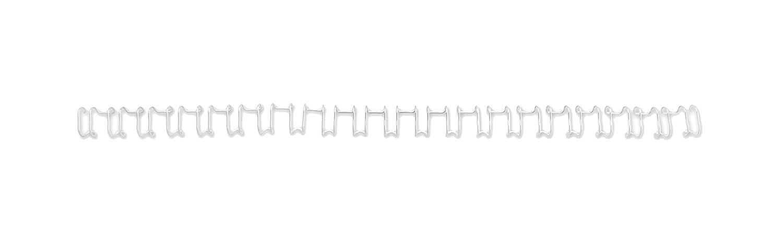 GBC Confezione Dorsi Metallici, 14 mm, Bianco, 100 Pezzi ACCO Brands IB165481