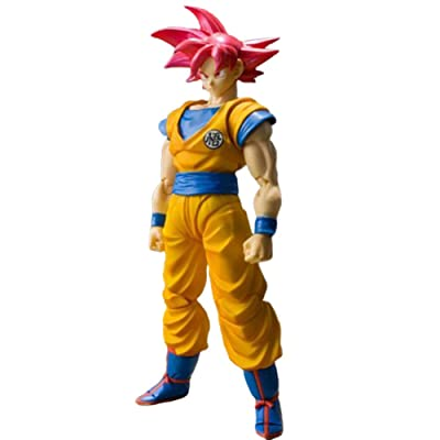 Chutoral Dragonball Z Figures, Goku Action Figure Nendoroid PVC Figure for Anime Fans Collection, 16cm: Sports & Outdoors