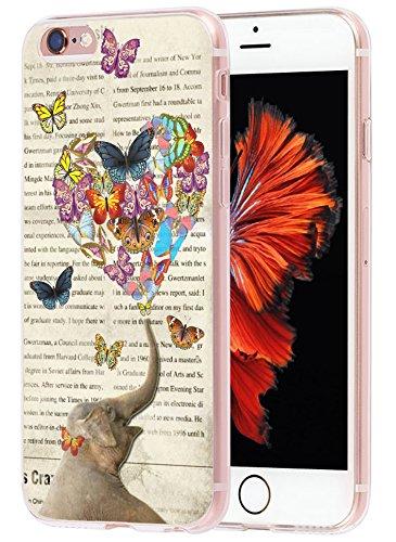 6S Plus Case elephant, Apple Iphone 6 Plus Case vintage elephant design