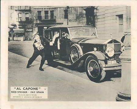 Al Capone Rod Steiger Fay España Original Lobby Card Ganster Classic coche: Amazon.es: Hogar