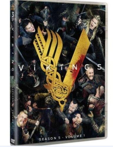 Vikings Season 5 Volume 1(DVD 2018) 3-Discs set by Brand new