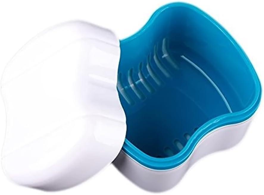 Vococal - Caja de Prótesis Dental Baño / Dientes Falsos de Recipiente Lavado Cesta: Amazon.es: Juguetes y juegos