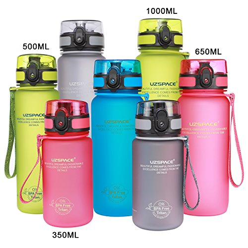 Best Sports Water Bottle 32oz Large Water Bottle Flip Top Leak Proof Lid with One Click Open - Non-Toxic BPA Free & Eco-Friendly Tritan Water Bottle