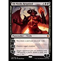 Magic: the Gathering - Ob Nixilis Reignited - Ob Nixilis della Fiamma Rinnovata - Battle for Zendikar
