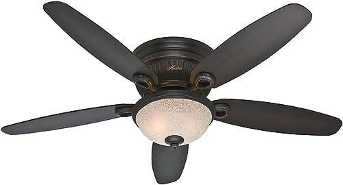 Hunter 53253 Ashmont 52-Inch Onyx Bengal Ceiling Fan