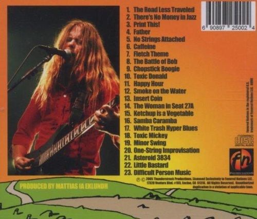 Freak Guitar The Road Less Traveled: Eklundh,Mattias Ia ...