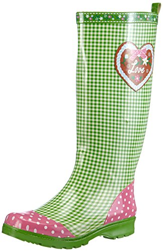 Regenstiefel 29 Gummistiefel Naturkautschuk Grün Playshoes Para Oktoberfest Aus Botas Landhaus Mujer R5qnv6dw