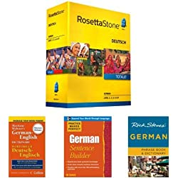 Rosetta Stone German Language Learning Bundle
