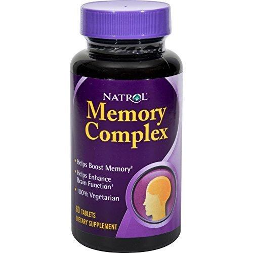 Memory Tablets 60 Complex (Natrol - Memory Complex, 60 tablets)