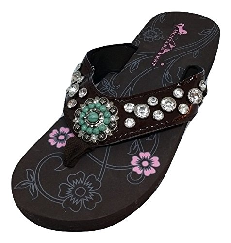 montana-west-womens-rhinestone-flower-two-tone-bling-flip-flops-6-bm-us-coffee