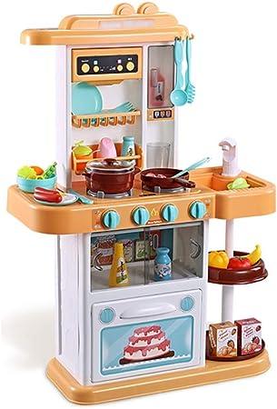 Accessori Cucina Gioca A Cucina Cucina Per Bambini Set Da Cucina Giochi Da Cucina Giocattolo Di Simulazione Playset Da Cucina Giocattoli Oltre I 3 Anni Regalo Per Bambini Accessori Cucina Amazon It Casa