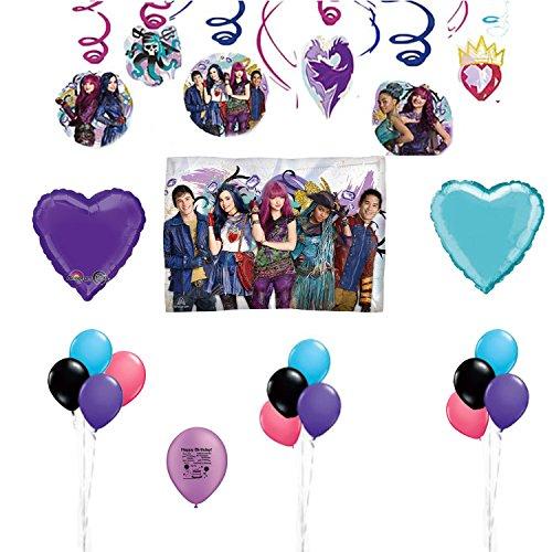 Descendants 2 Birthday Party Balloon Room Decoration Kit