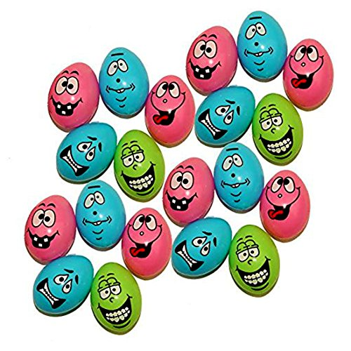 72 Easter Eggs With Funny Faces | Perfect