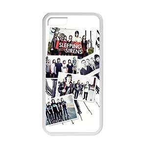 Sleeping Sirens fashion plastic phone case for iPhone 5c